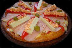 Mi pizza preferida: de palmitos con salsa golf