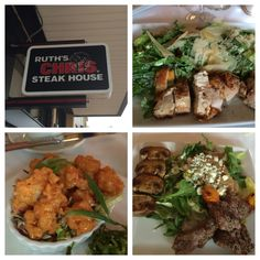 Ruth's Chris has a great lunch menu with delicious dishes from $9.99 and up! #FoodPorn #Foodie #nomnom FoodPic