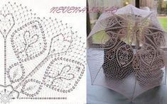 Háčkované slnečníky - Dobré rady a nápady Crochet Diagram, Crochet Chart, Thread Crochet, Crochet Motif, Crochet Designs, Crochet Doilies, Crochet Lace, Crochet Stitches, Doily Patterns