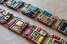 clay jewelry brazeletes - Buscar con Google