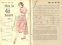 diy skirt & bolero  from Woman & Beauty July 1948