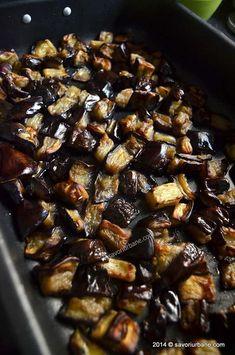 Romanian Food, Candida Diet, Eggplant Recipes, Raw Vegan, Diy Food, Vegetable Recipes, Nom Nom, Food And Drink, Beef