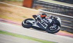 KTM Moto2 Race Bike Debut