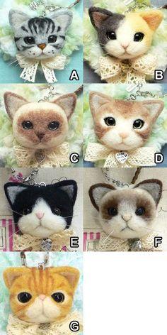 Katzenköpfe filzen