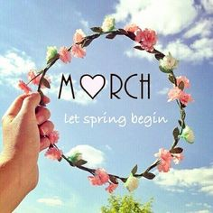 Find images and videos about flowers, spring and hello on We Heart It - the app to get lost in what you love. Hello March Images, Hello March Quotes, New Month Quotes, Monthly Quotes, Days And Months, Months In A Year, Viria, Tropic Quotes, New Month Wishes