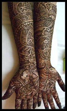 Dulhan Mehendi design