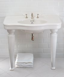 Beautiful sinks from Lefroy Brooks. Check out more from Lefroy Brooks at ibathtile.com.