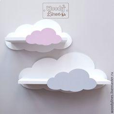 Clouds Decorative Shelf Idea-for kids room Idea for children's room