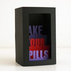 3D cards: Take Your Pills
