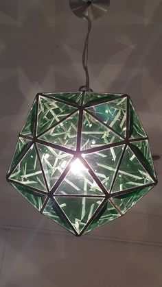 Glass Pendant Light, Glass Pendants, Pendant Lighting, Stained Glass Lamps, Stained Glass Windows, Lampe 3d, Luxury Home Decor, Light Art, Islamic Art