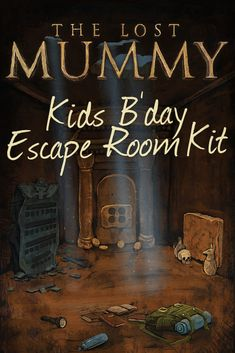 These parents are hacking birthdays with this secret kit: it transforms your living room into an escape room. It prints out on normal paper and has all the puzzles, clues, instructions, and victory posters for a complete Egyptian themed kids escape birthday. #UnforgettableBirthday https://lockpaperscissors.co/lost-mummy