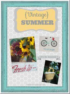 {SUMMER LOVE} ♥ vintage summer inspiration board