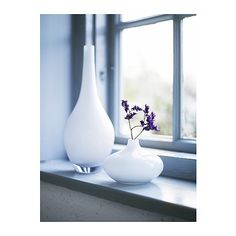turn this $10 vase into table lamp  SALONG Vase IKEA Mouth blown; each vase has been shaped by a skilled craftsman.