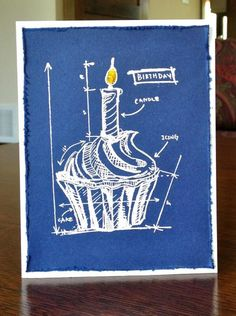 Birthday Blueprint by MeredythG - Cards and Paper Crafts at Splitcoaststampers