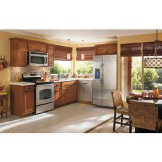 Kitchen classics cheyenne 30 in x 12 in x 12 in birch for Cheyenne kitchen cabinets lowes
