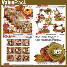 Value Pack: To The Autumn