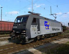 Railfreight Europe class 152 - Alternative Railways - Galleries - RMweb