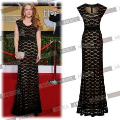 Women's Long Prom Lace Formal Evening Gowns Party Bridesmaid Dresses Size 681024   eBay