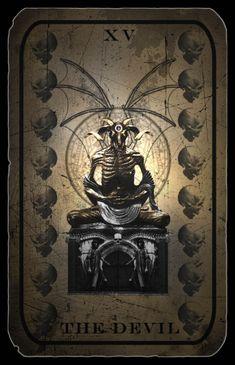 Devil Tarot Card by ~hexxxer on deviantART