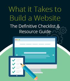 Creating a website is overwhelming. Here's a checklist on what you actually need to build a professional looking website quickly & cheaply. #websitebuilder #websitetools #checklist