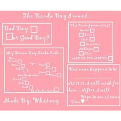 surveyyyy ❤ liked on Polyvore featuring surveys, pictures, templates, extra and challenges