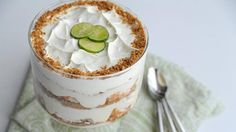 If you love a tangy Key lime pie, this creamy and crunchy trifle will hit the spot!