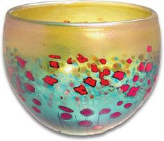 Robert Held Colorful Bowl