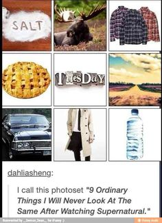 """I DONT EVEN WATCH SUPERNATURAL AND I SAW THIS AND JUST THOUGHT """"This is a supernatural tumblr post"""""""