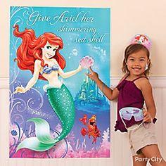 Little Mermaid Pin It Game Idea