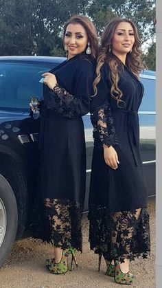 Abaya Fashion, Couture Fashion, Fashion Dresses, Mode Abaya, Mode Hijab, Velvet Dress Designs, Blue Chiffon Dresses, Oriental Dress, Muslim Women Fashion