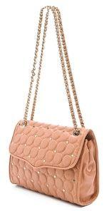 Rebecca Minkoff  Polka Dot Quilted Affair Bag