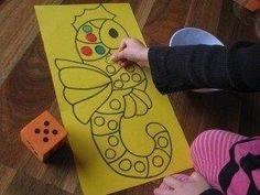 Counting and Subitising Activities 3 Numeracy Activities, Ocean Activities, Counting Activities, Kids Learning Activities, Preschool Math, Math Classroom, Kindergarten Activities, Fun Math, Daily Five Math