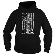 THORNES-the-awesome - #birthday gift #gift for women. GET YOURS => https://www.sunfrog.com/Names/THORNES-the-awesome-114209067-Black-Hoodie.html?id=60505