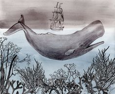I sold out of all my whale prints in about an hour at my craft fair yesterday, but it's 30% off in my Etsy shop right now, and there are plenty more! :)