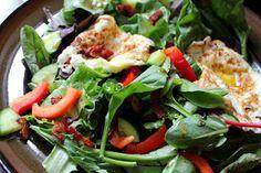 Stuff I Make My Husband: Eggs on salad...but not egg salad