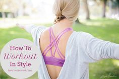 Fit Tip: How to Workout in Style
