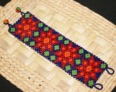 Seed Bead Bracelets, Seed Beads, Loom Beading, Beading Patterns, Afghan Clothes, Beaded Jewelry Designs, Beaded Embroidery, Diy And Crafts, Bracelets