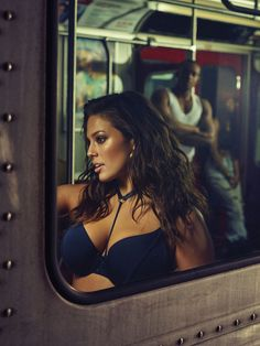 Ashley Graham Wore Her New Lingerie on the Subway and It's Hot AF