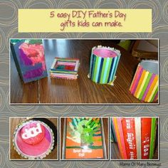 DIY father's day DIY 5 Easy Fathers Day Gifts DIY father's day