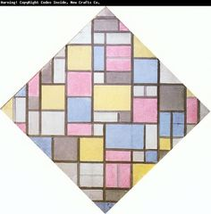 PAINTING BY: PIET MONDRIAN