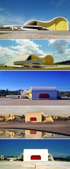 Teatro Popular Oscar Niemeyer - Rio de Janeiro