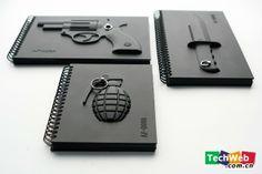 軍事迷的最愛 各樣式的武器筆記本(組圖)