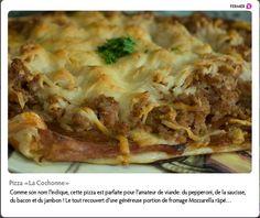 Pizza «La Cochonne» de Cochon Cent façons   http://www.cochoncentfacons.com/site.html#/produits