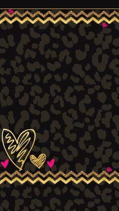 Leopard with purple heart dock bar Wallpaper J7, Power Wallpaper, Diamond Wallpaper, Animal Print Wallpaper, Sanrio Wallpaper, Glitter Wallpaper, Heart Wallpaper, Cellphone Wallpaper, Black Wallpaper