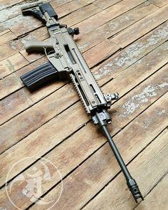 Airsoft Guns, Weapons Guns, Guns And Ammo, Assault Weapon, Assault Rifle, Cz 805 Bren, Tactical Life, Tactical Firearms, Rifles