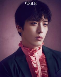 Jung Yonghwa Is Into 'Heavy Petal' for Vogue Korea