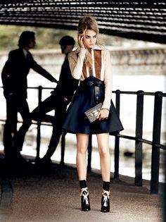 Cara Delevingne fo Vogue