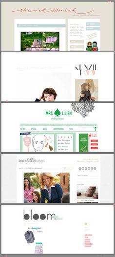 Beautiful Blog Designs 1 via Noor AlQahtani