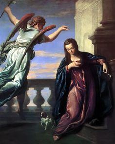 The Annunciation - Paolo Veronese - 1572