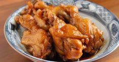 「お酢で柔らか!鳥手羽元のお酢煮」簡単にできる鳥手羽元のお酢煮です。さっぱりしながらも、コクのある一品。作り置きにもお弁当にもオススメです♫ 材料:鳥手羽元、A水、A酢・醤油・酒.. Chicken Wings, Pork, Meat, Junk Food, Japanese Food, Cooking, Recipes, Kale Stir Fry, Kitchen